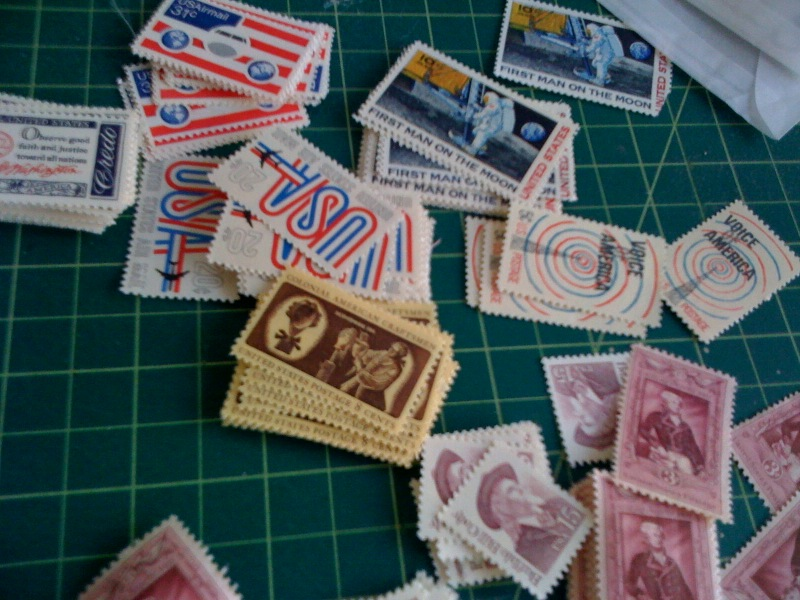 bunches of stamps